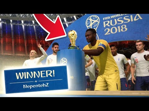 WHAT HAPPENS WHEN YOU WIN THE WORLD CUP (OFFLINE) - FIFA 18 World Cup