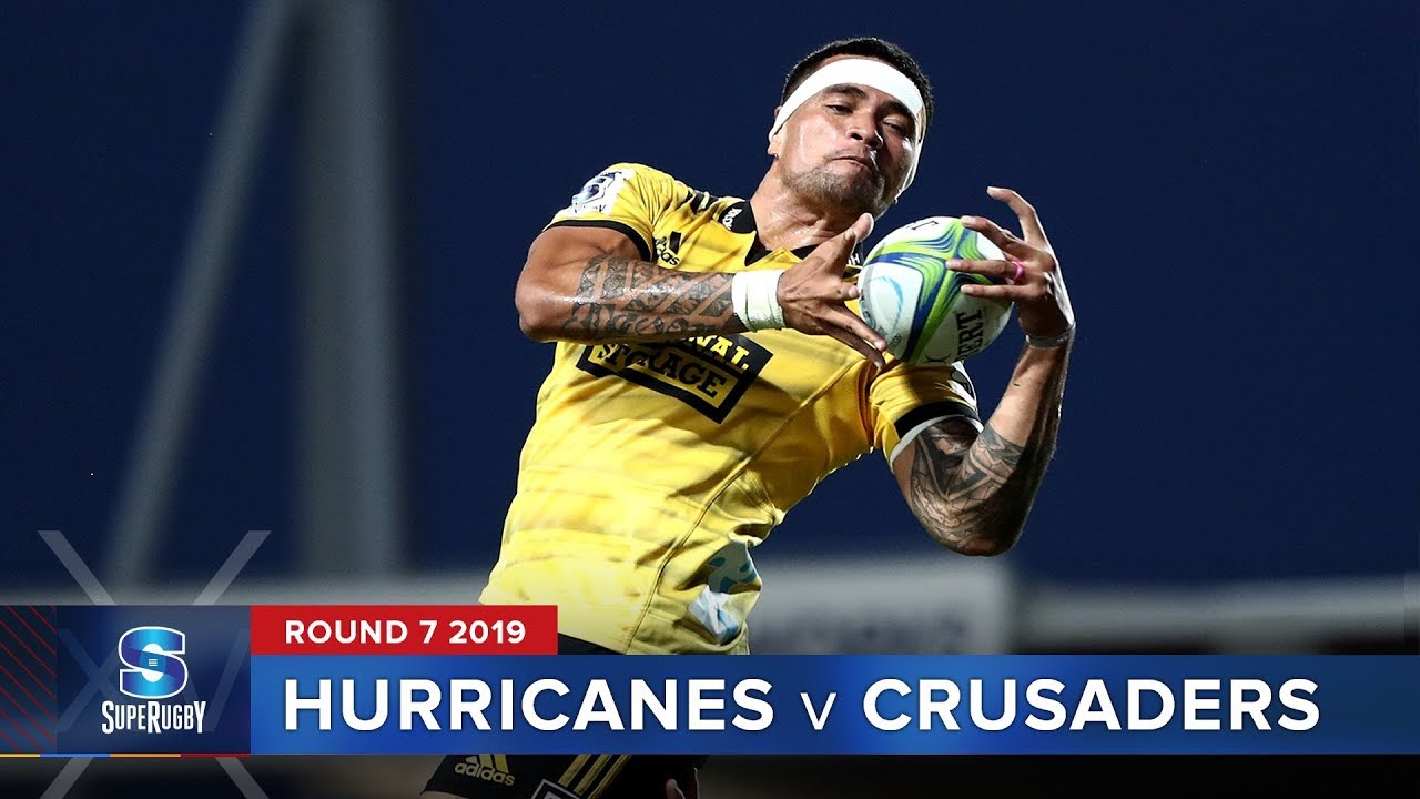 Hurricanes v Crusaders | Super Rugby 2019 Rd 7 Highlights