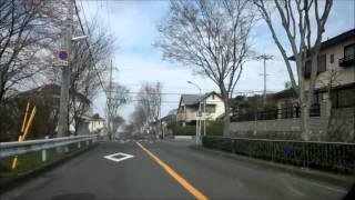 美加の台外周道路 2014年3月29日