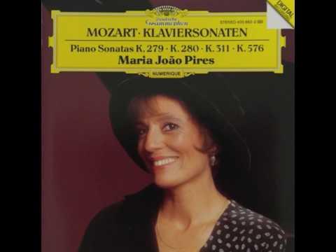 Mozart Piano Sonata No.1 In C Major K.279(189d)/Maria João Pires
