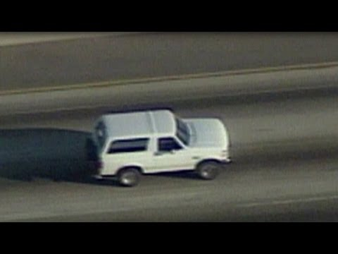 World watches as police chase O.J. Simpson