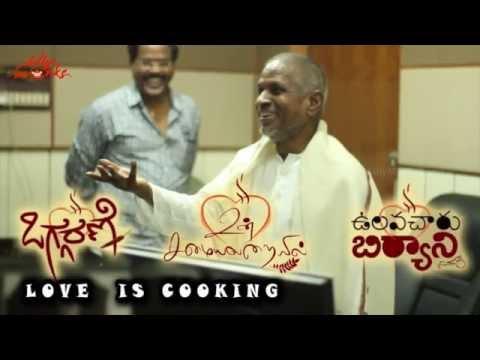 Un Samayal Arayil - Ilayaraja Recording Song with Kailash Kher - Prakash Raj Film