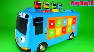 Biggest toy Tayo the little bus The Little Bus Tayo 타요 1기 PlayClayTV
