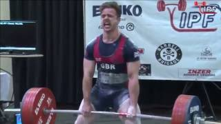 Owen Hubbard - 745kg 3rd Place 83kg - IPF World Classic Powerlifting Championships 2016