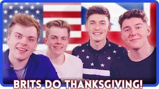 TRYING AMERICAN FOOD! | Thanksgiving ft. MyNamesChai & NIkiNSammy
