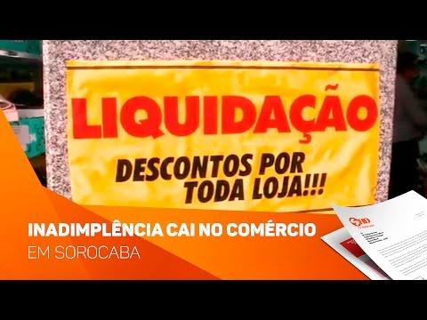 Inadimplência cai no comércio de Sorocaba - TV SOROCABA/SBT