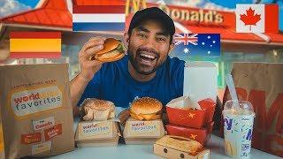 McDonald's Taste The World Menu