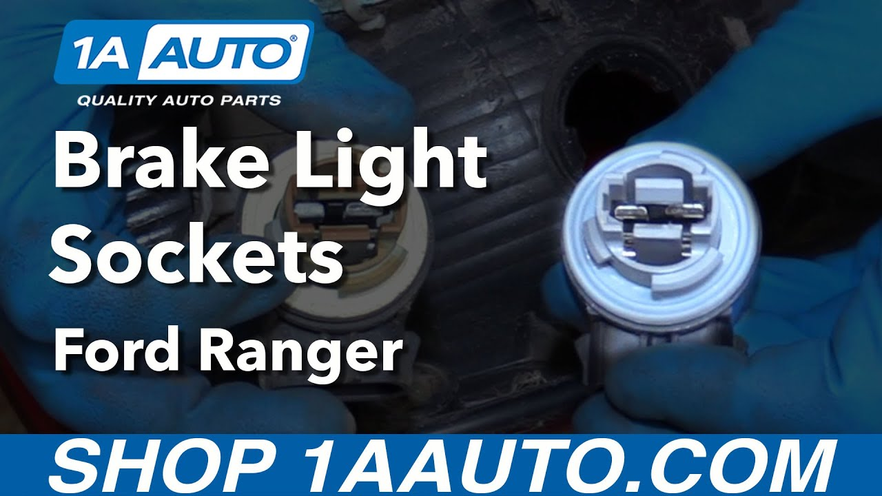 How To Replace Tail Light Bulb Socket 98 12 Ford Ranger Youtube Isuzu Wiring
