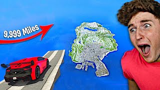 Can You Jump The WHOLE MAP In GTA 5? (GTA 5 Mods)