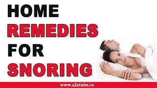 Snoring – Natural Ayurvedic Home Remedies