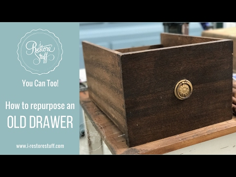 Hometalk Live   Repurposed Drawer