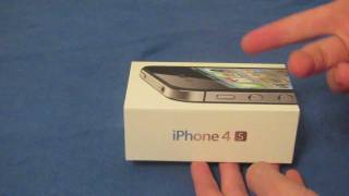 iPhone 4S Unboxing and Hands-On