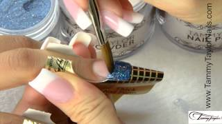 tammy taylor mermaid cove prizma collection acrylic glitter nail demos