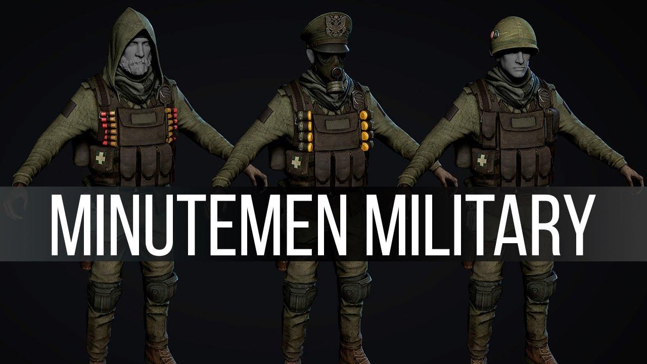 The Minutemen Overhaul You've Been Waiting For - Upcoming Mods 156
