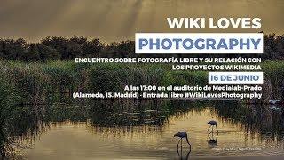 #WikiLovesPhotography. Encuentro sobre fotografía y conocimiento libre thumbnail