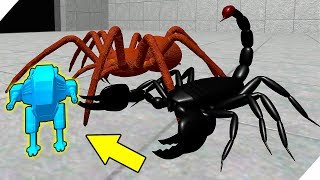 АТАКА скорпионов и пауков на ванную комнату! Игра Home Wars - История игрушек солдатиков!