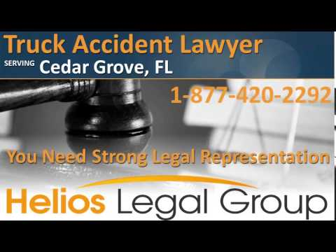 Cedar Grove Truck Accident Lawyer & Attorney - Florida