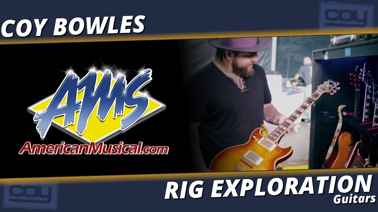 Coy Bowles Guitars - AMS Rig Exploration