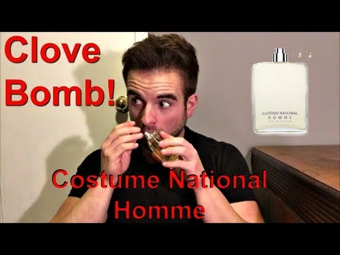Costume National Homme Fragrance Review!