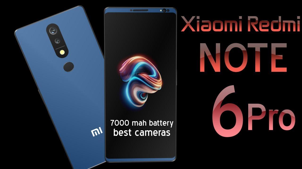 Xiaomi Redmi Note 6 Pro Introduction 18 9 Aspect Ratio 98 Screen To Bod Xiaomi Notes Aspect Ratio