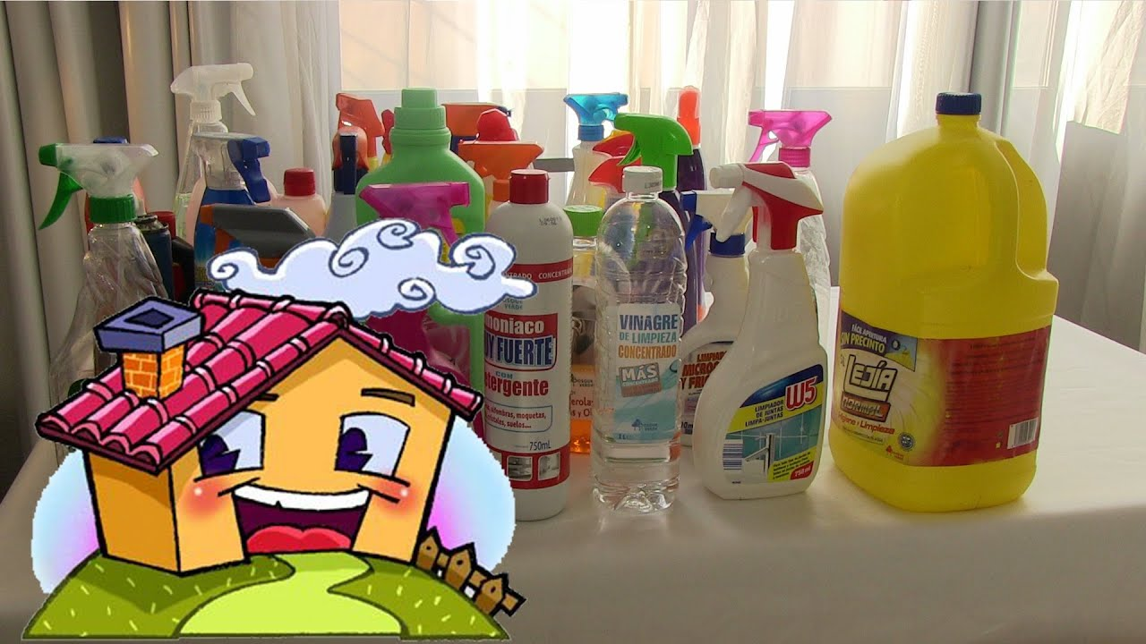Mis productos de limpieza para la casa y ba o youtube - Limpieza en casa ...
