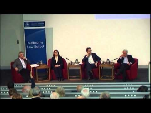 The Wednesday Lectures hosted by Raimond Gaita 2012 - Panel Discussion