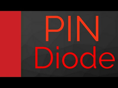 PIN Diode working, Characteristics, Biasing & Applications in Diode Playlist by Engineering Funda