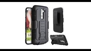 LG G2 - Armor Impact Holster Shockproof Hard Case for LG G2 Back Cover