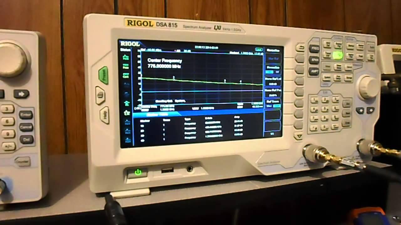 Minicircuits ZX60 P103 LNA BW Test