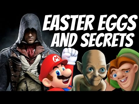 Assassin's Creed Unity - All Easter Eggs and Secrets Collection