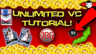 UNLIMITED FREE VC TUTORIAL!!! 8,000+ VC in ONE MINUTE!! NBA 2K17 Tips and Tricks