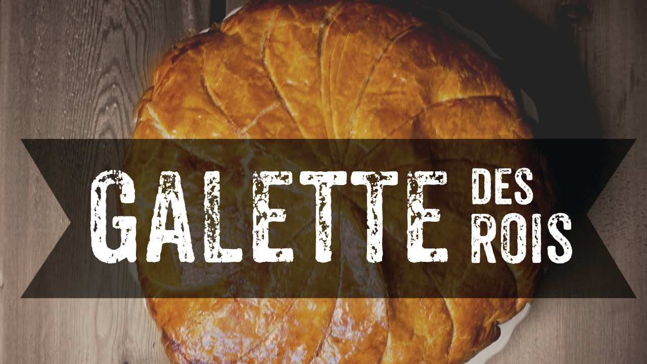 recette de galette des rois avec f ve surprise youtube. Black Bedroom Furniture Sets. Home Design Ideas