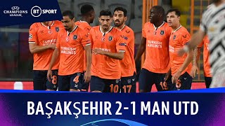İstanbul Başakşehir v Manchester United (2-1) | Champions League Highlights
