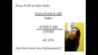 BTEC Ratios 1 Gross profit to sales