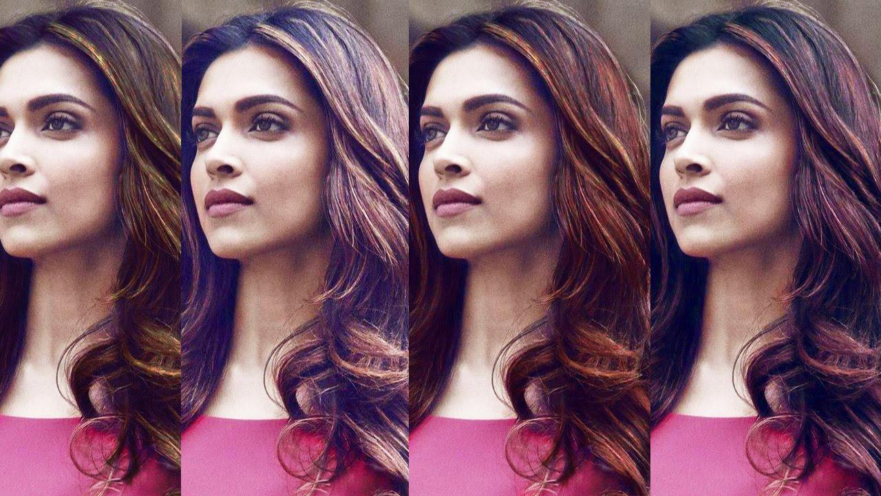Color Deepika Padukone's Hair