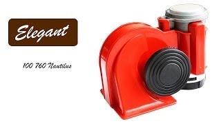 Elegant Nautilus 100 760 — звуковой сигнал «улитка» — видео обзор 130.com.ua