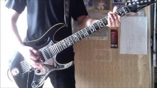 陰陽座 - 組曲「鬼子母神」~膾 Guitar covered by: Kwong Gear: Ibanez...