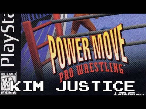 Power Move Pro Wrestling Review - PlayStation - Kim Justice (Kimblitz #17)