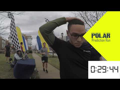 Polar Prediction Run Finish Line Video