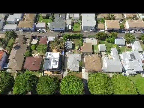 DRONING A GORGEOUS NEW MODERN HOUSE IN SANTA MONICA CA -2427 21st