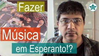 Fazer música em Esperanto! #25 Conversa Markone Froes | Esperanto do ZERO!
