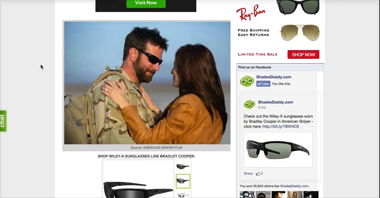 64be91640d What Sunglasses is Bradley Cooper Wearing in American Sniper? - YouTube