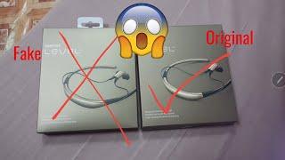 أحذر الغش التجاري!!! سماعة ليفل يو سامسونج Samsung level u