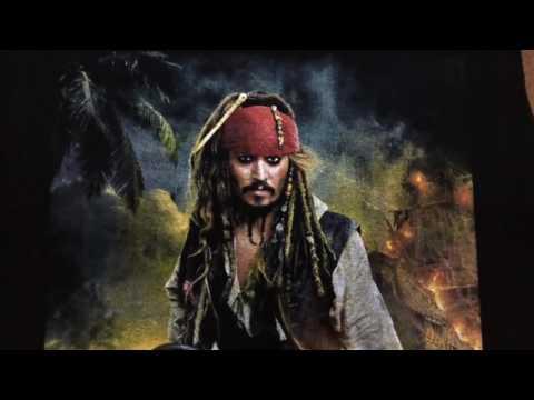 Cuatricromia Plastisol Union Ink  Pirates Of The Caribbean  Screen Printing