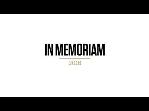 2016 presidential campaigns in memoriam