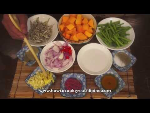 Paano magluto Kalabasa Dilis – Pumpkin & Dried fish recipe – Tagalog Pinoy Filipino cooking
