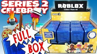 NEW ROBLOX Celebrity Series 2 FULL BOX Blue Mystery Boxes Opening Toy Review | Trusty Toy Channel