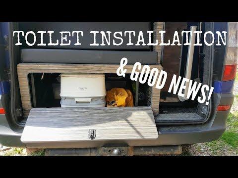 Mercedes Vito Camper News & Toilet Installation   The Carpenter's Daughter