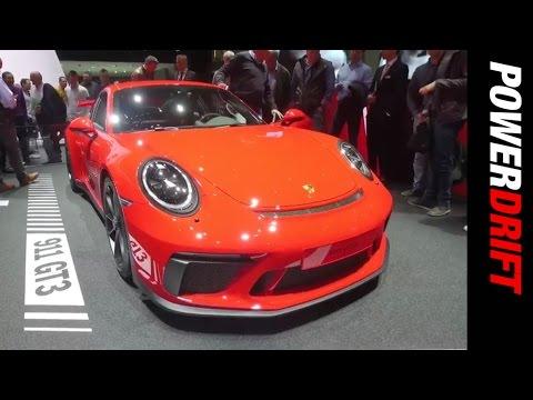 Porsche 911 GT3 : Geneva Motor Show : PowerDrift