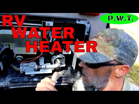 HOW TO REPLACE ANODE ROD ON ATWOOD RV WATER HEATER